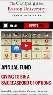 Boston University Annual Fund