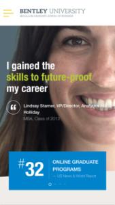 Bentley University Graduate Programs