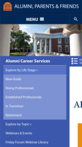 University of Virginia Alumni Career Services