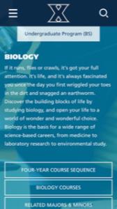 Xavier University Biology