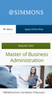 Simmons College Online MBA