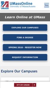 University of Massachusetts Online