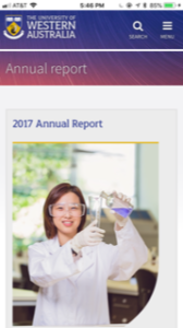 University of Western Australia Annual Report