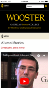 College of Wooster Alumni Stories