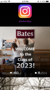 Bates College Instagram