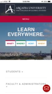 Arcadia University Study Abroad