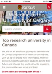 Univesity of Calgary