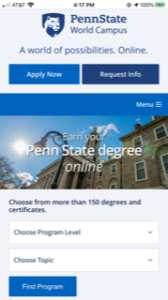 Penn State Global Camspus